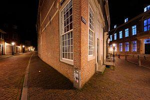 De hoek Achter de Dom / Pausdam in Utrecht