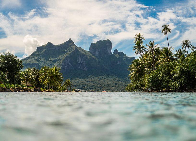 Doorkijk Bora Bora van Ralf van de Veerdonk