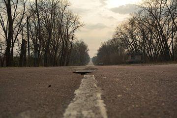 De eenzame weg  van Dennis Brok