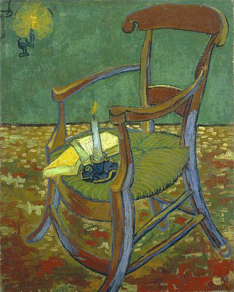 Vincent van Gogh. De stoel van Gauguin  van 1000 Schilderijen