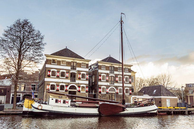 Museum haven van  Gouda van Hilda Weges