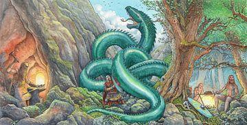 Sigurd le tueur de dragon sur Wouter Florusse