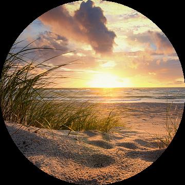 Zonsondergang aan de Oostzee van Steffen Gierok