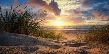 Sonnenuntergang an der Ostsee sur Steffen Gierok