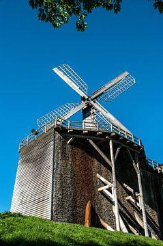 Windmühle auf dem Gradierwerk von Norbert Sülzner