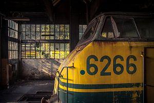 Vergeten locomotief van