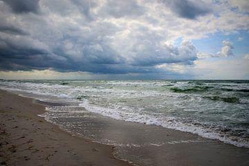 Sommersturm van Ostsee Bilder