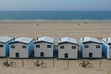 Strandhuisjes von Michel van Kooten