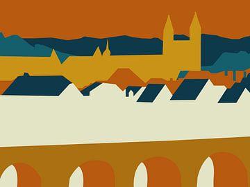 Maastricht-silhouet van -  JOJO  -