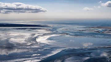 Zeegat tussen Texel en Vlieland van Roel Ovinge