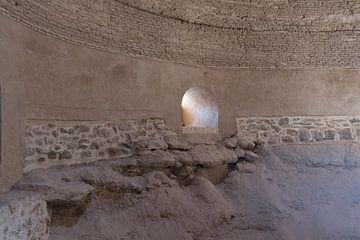Iran: Baksteenoven (Yazd) van Maarten Verhees