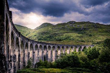 Glenfinnan Viaduct (The Harry Potter bridge) sur Dennis Wardenburg