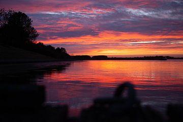 Zonsondergang Veerse meer van Hartsema fotografie