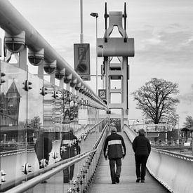 Stadsbrug Kampen van Anneke Wapstra