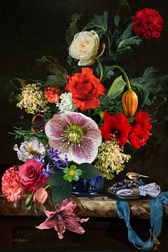 Stillleben Blumen | Blumenstillleben von Christine Vesters Fotografie