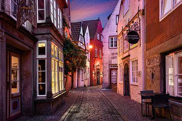Schnoorviertel in Bremen von Michael Abid