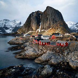 Hamnøy, Norway Lofoten van Ab Wubben