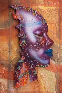 Blaue Lippen von Fred Odle