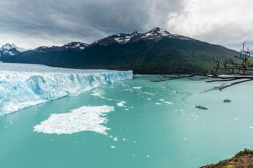 Perito Moreno gletsjer von Trudy van der Werf