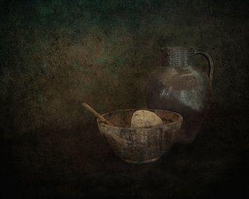 Stilleven met aardappel van Guna Andersone
