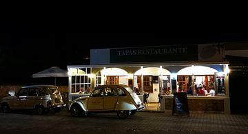 Restaurant by night von Marc Struik