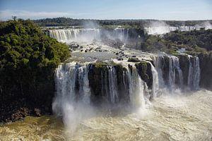 Brazilië, Argentinië, Iguazu National Park (UNESCO Werelderfgoedlijst, 1984). Iguazu-watervallen