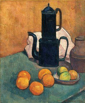 Émile Bernard~Die blaue Kaffeekanne