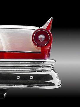 staartvin Amerikaans klassieke auto fair lane 1957 van