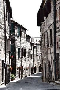 Italiaans dorpje in de Tocane