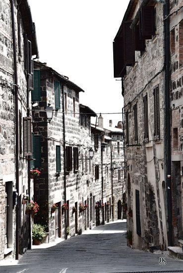 Italiaans dorpje in de Tocane van Hendrik-Jan Kornelis