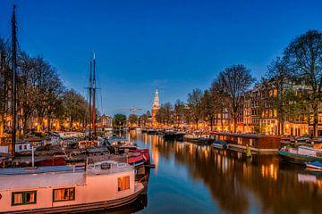 Oude Schans Amsterdam van Peter Bartelings Photography