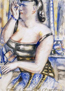 Diva macht sich bereit, Paul Kleinschmidt, 1943 von Atelier Liesjes