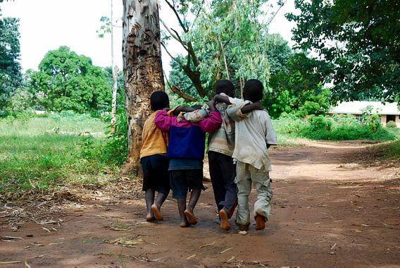 Verbroedering in Malawi van Paul Riedstra