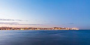 Lissabon bij nacht van