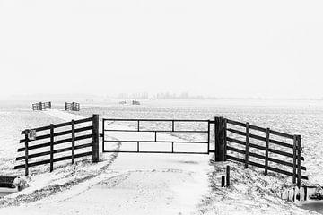 Winter in der Alblasserwaard von Beeldbank Alblasserwaard