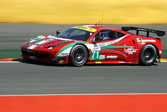 Ferrari GT van MSP Canvas