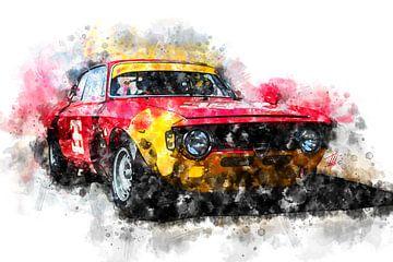 Alfa Romeo Giulia 1600 GTA Corse - 1965 van Theodor Decker