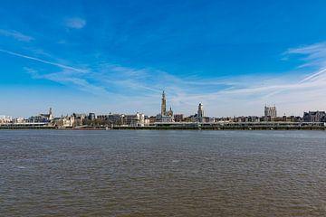Skyline Stadt Antwerpen von Tessa Selleslaghs