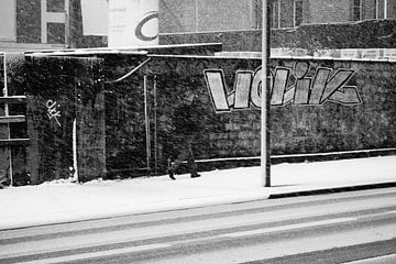 Vanished by the Snow - Antwerpen van Maurice Weststrate