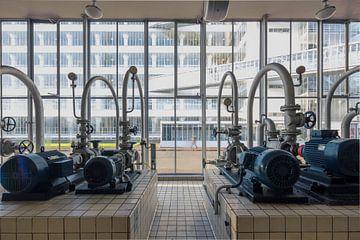 Machinekamer Van Nelle fabriek Rotterdam von Pieter Geevers