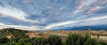 Florence in de ochtend van Rob van Esch