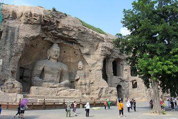 Yungang grotten Datong China von Martin van den Berg Mandy Steehouwer