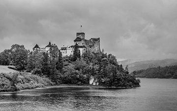 Niedzica Schloss am See von Stijn Cleynhens