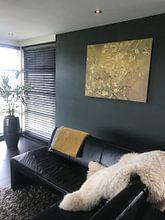Kundenfoto: Mandelblüte ALMOND BLOSSOM ocker - Vincent van Gogh, auf leinwand