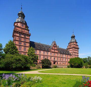 Schloss Johannisburg , Renaissanceschloss,  Aschaffenburg, Unterfranken, Franken, Bayern, Deutschlan von Torsten Krüger