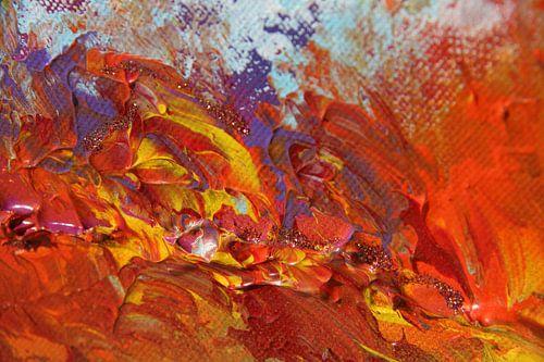 Burning sky 9 van Toekie -Art