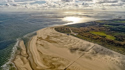 Dageraad over Eierland Texel
