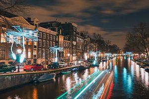 Amsterdam Light Festival van Ali Celik