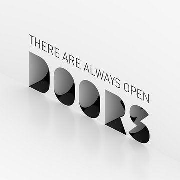 Er zijn altijd open deuren van Jörg Hausmann