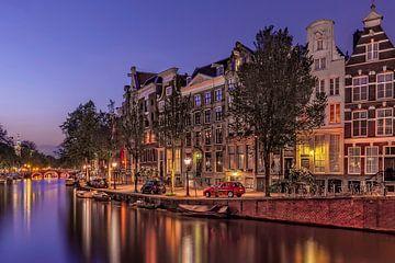 Le Prinsengracht en soirée sur Dennisart Fotografie